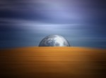 Fuoco, aria e acqua compongono il globo terrestre
