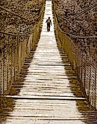attraversare il ponte