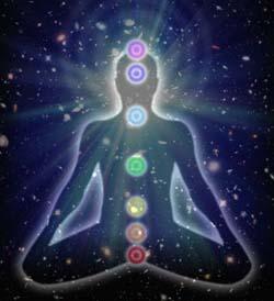 i chakra e l'energia dell'universo