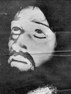 il volto di gesù apparso dal cronovisore