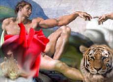 Quanto maggiore è la complessità o l'evoluzione della Forma, tanto maggiore sarà l'espressione della Divinità dentro la stessa. Di conseguenza la divinità che può manifestare una pietra, sarà differente/inferiore rispetto alla divinità che può manifestare una rosa. Come anche la divinità, l'intelligenza o l'amore che può esprimere una tigre, sarà inferiore alla divinità che può esplicitare un uomo.