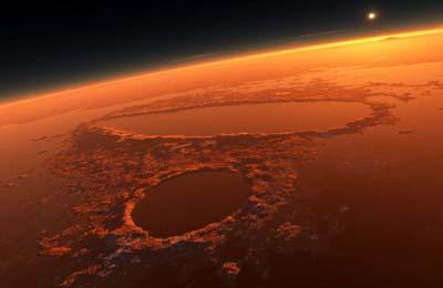 Un'antica catastrofe su Marte