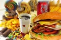 Acidità del corpo e cibo da fast-food