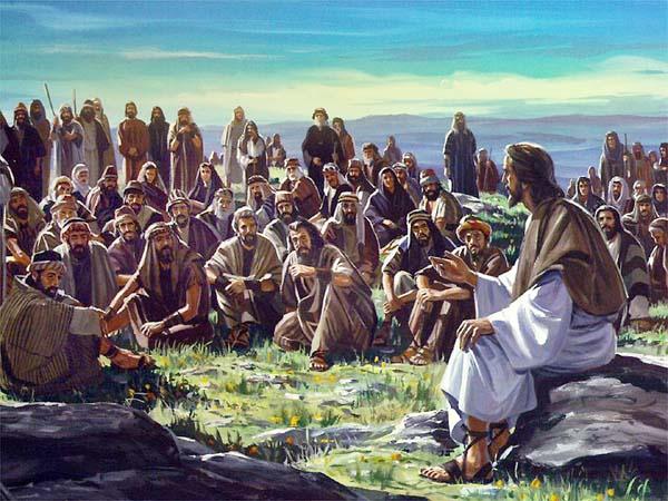 Gesù insegna alla folla