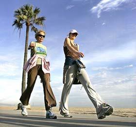 Camminare fa bene alla salute