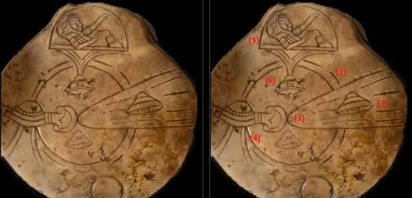 Manufatti maya con ufo