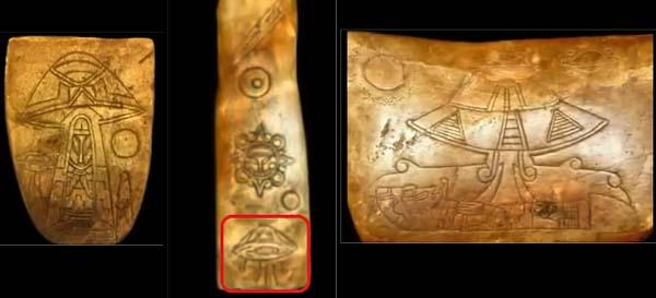 Manufatti maya con rappresentazioni di ufo