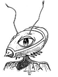 Alieno di razza insettoide