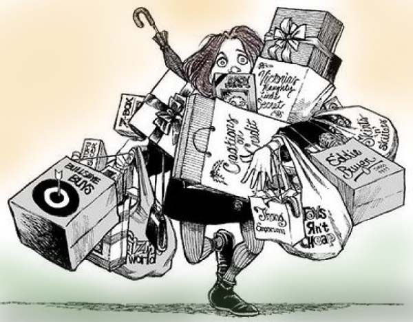 Risultati immagini per consumismo