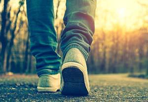 """La """"meditazione camminata"""""""