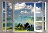 Finestra aperta sulle colline