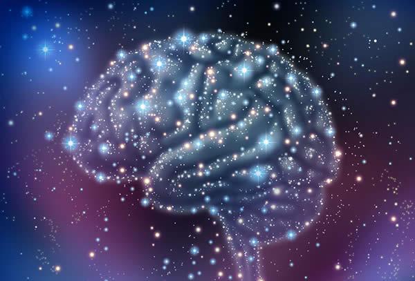 Connessione del cervello con il Tutto