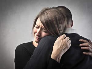 Dolore per la perdita di una persona cara