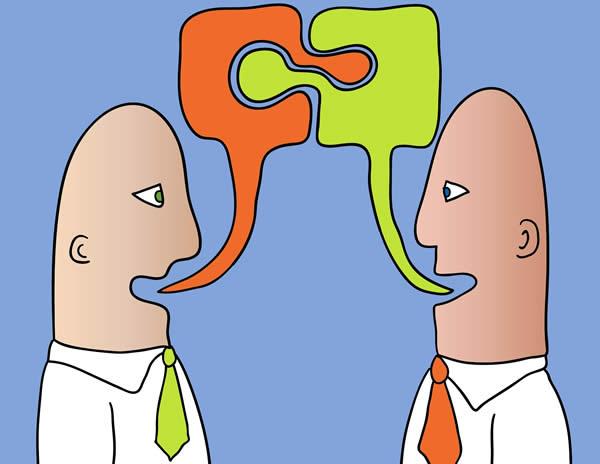 Conversazione alla pari