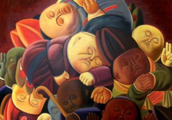 Dormienti - F. Botero