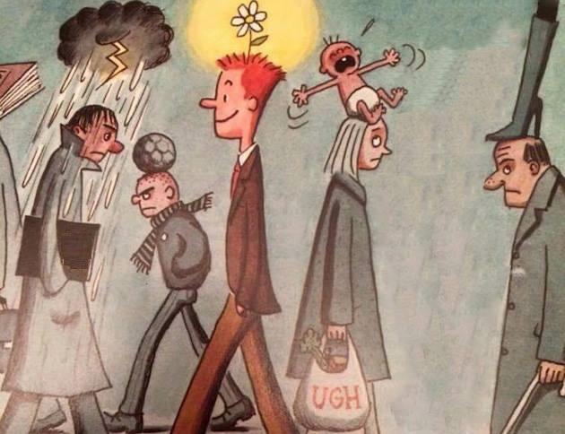Abitudini persone infelici