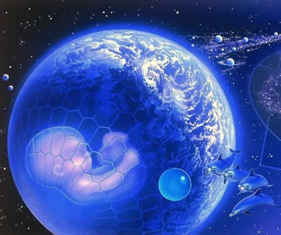 Nascita della Terra nella quarta dimensione