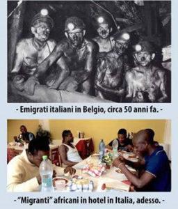 Emigrati italiani ieri, immigrati stranieri oggi