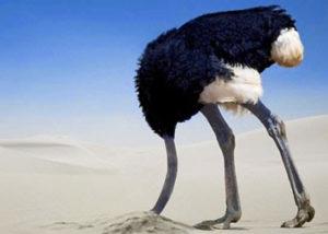 Sindrome della testa sotto la sabbia