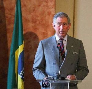 Principe Carlo d'Inghilterra a Rio de Janeiro
