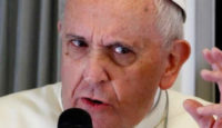 """Papa Francesco """"Gesù si è fatto diavolo"""""""