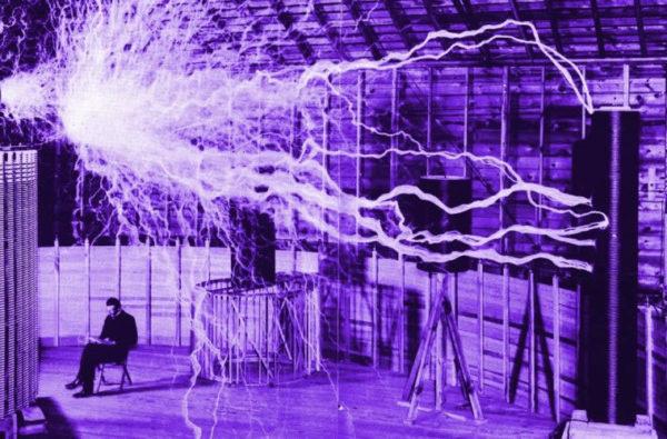 Nikola Tesla energia radiante