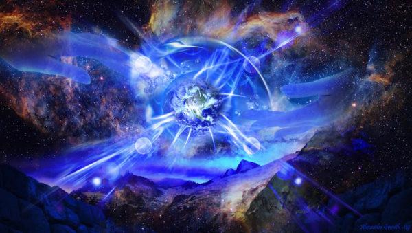 L'universo nella sua totalità è molto più ampio di quanto ci si possa immaginare. Quello che noi percepiamo attraverso i nostri organi sensoriali, non è altro che una piccola parte, che possiamo quantificare circa nel 5% della Creazione intera. Se pensiamo che il nostro cervello, che è l'organo preposto a tutte le funzioni dell'uomo, è attivo nella misura di circa il 7%, è ovvio presupporre che a mano a mano che impariamo ad usare sempre di più le facoltà del cervello, si apriranno a noi mondi ancora sconosciuti. Mondi che vanno ben oltre a quelli da noi compresi fino ad ora grazie all'utilizzo dei sensi, che vi ricordo sono molto assopiti. Anch'essi sono attivi al 7% circa della loro potenzialità. Lo stesso, vale anche per ciò che conosciamo riguardo il nostro corpo, la nostra coscienza e di conseguenza la comprensione della realtà. Se ci paragoniamo ad un bambino ognuno di noi si può immaginare come un infante di 3/5 anni.