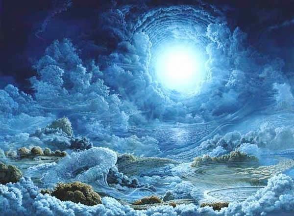 """Si è sempre detto e scritto in teologia e nelle ricerche sul paranormale, che l'Io (o anima) continua a esistere dopo la scomparsa del corpo, in una dimensione """"oltre"""" di vita, caratterizzata da un'incantevole panorama di luce, di gioia, di canto con al centro l'incontro con Dio. Questo è tutto vero. Si parla anche dell'acquisizione del """"corpo sottile o astrale"""" capace di attraversare luoghi e spazi anche chiusi con facilità e al di fuori delle consuete coordinate geo-temporali. Tale corpo avrà varie fasi nel suo modo di presentarsi e ciò dipenderà dallo stadio di sviluppo dello spirito, fino a giungere alla perfetta luminosità e trasparenza, tanto da essere un """"corpo di luce o corpo glorioso""""."""