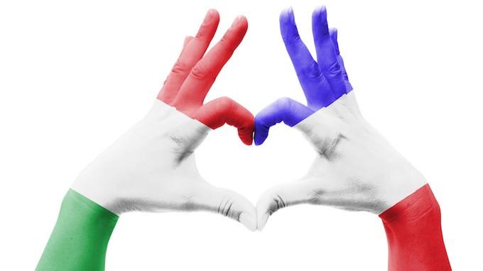 Risultato immagini per italia francia