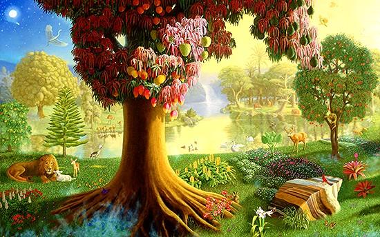 Liebe das Ganze, weil das Ganze Liebe ist: Der Garten Eden Jeshua ...