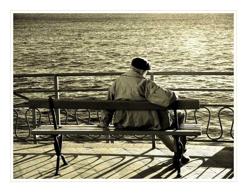 Liguria con lentezza. Il vecchio e il mare.Un incontro di viaggio.