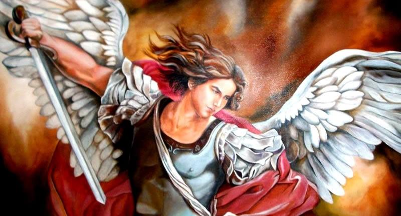 Arcangelo Michele - Tarocchi degli Angeli - Daniel Missori Angel Coach