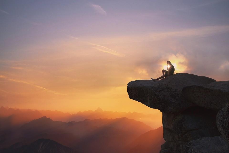 Montagne Uomo Cliff - Foto gratis su Pixabay