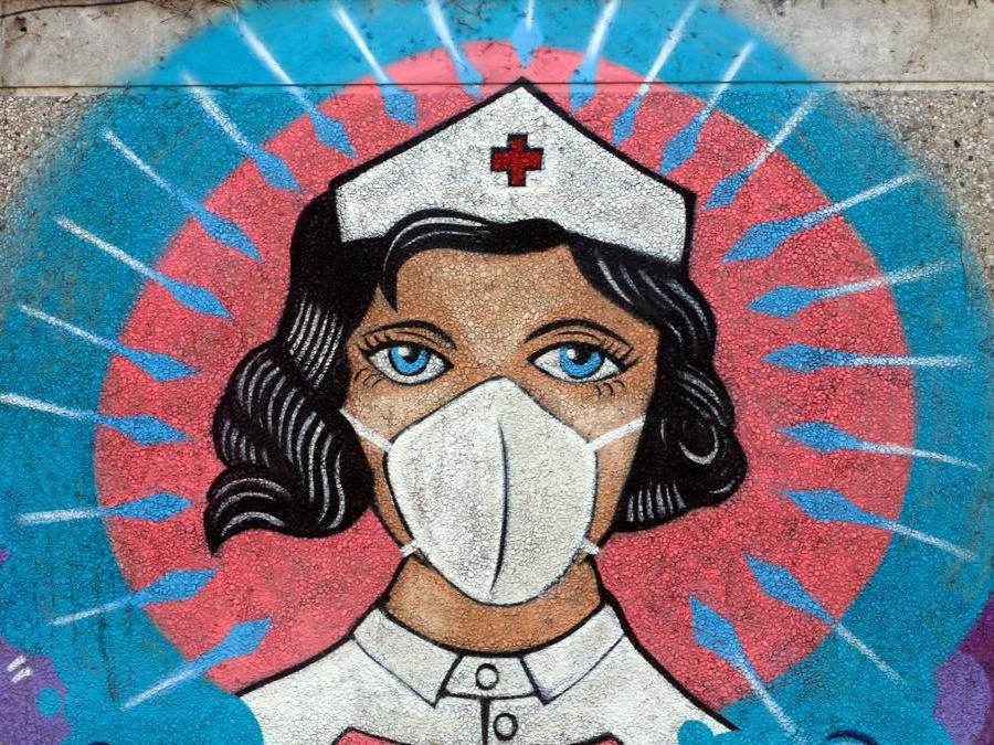 Il coronavirus raccontato attraverso i murales - Il Sole 24 ORE