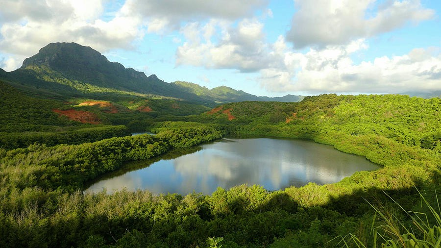 Menehune Fish Pond, Kauai, Hawaii Photograph by Douglas Peebles